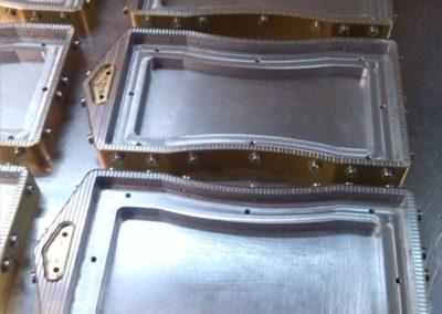 Electrodo para soldadura de plástico por alta frecuencia 04